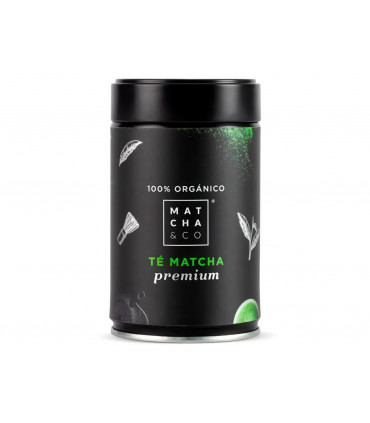 Té matcha premium 100% ecológico