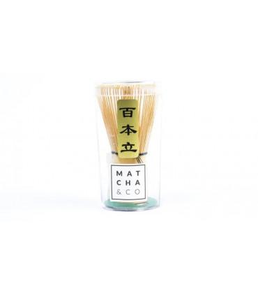 Batidor de bambú Chasen (100 varillas)