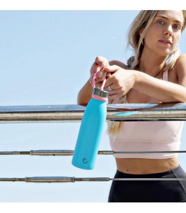 Loop Carrier - Lazo para botellas rosa pompón